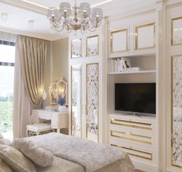 Апартаменты в классическом стиле (10 of 15)
