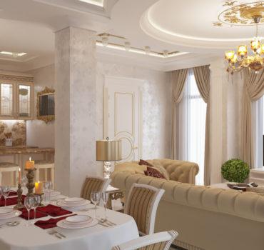 Апартаменты в классическом стиле (2 of 15)