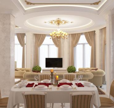 Апартаменты в классическом стиле (3 of 15)