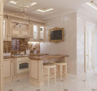 Апартаменты в классическом стиле (5 of 15)