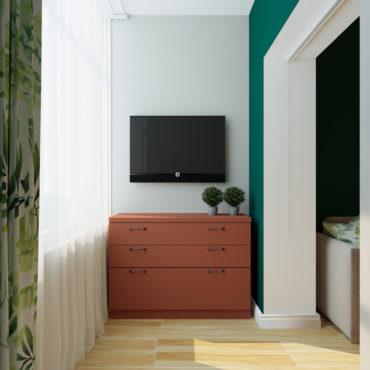 Мини-квартира с тропическими мотивами (6 of 9)