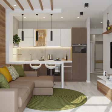 Апартаменты для летнего отдыха-1
