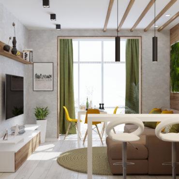 Апартаменты для летнего отдыха-2